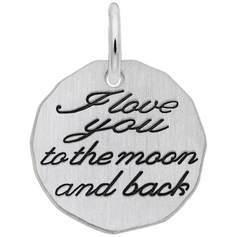 Moon & Back, Engravable