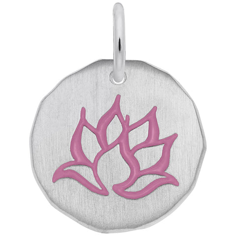 Lotus Flower, Engravable