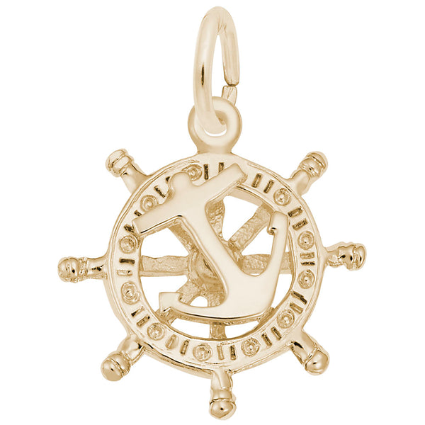 Rembrandt Charms, Small Anchor & Ship Wheel