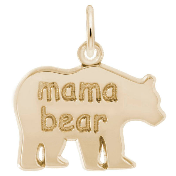 Rembrandt Charms, Mama Bear, Engravable