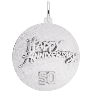 Rembrandt Charms, 50 Anniversary, Engravable
