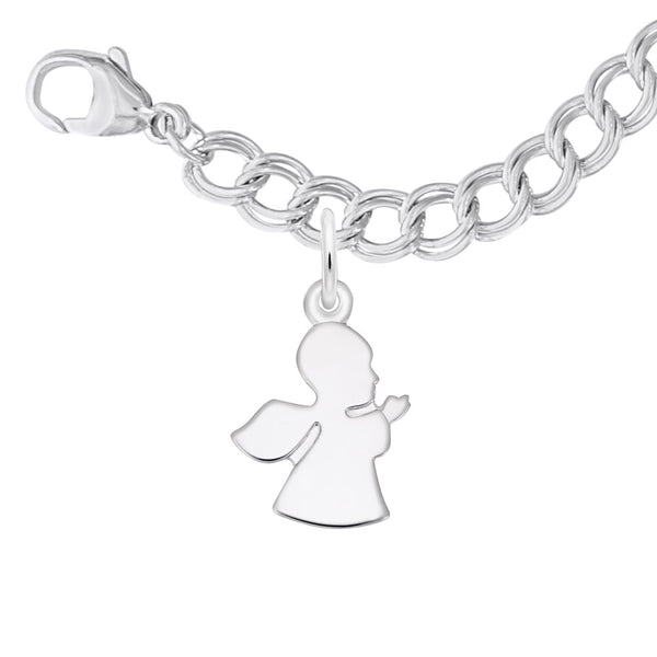 Rembrandt Charms, Guardian Angel, Small, Engravable