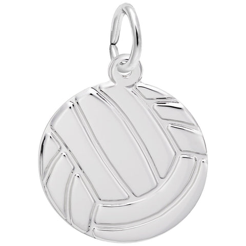 Rembrandt Charms, Volleyball, Engravable