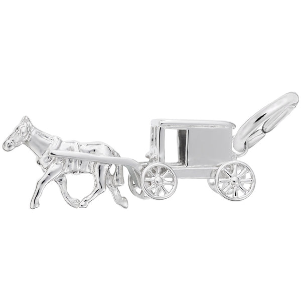 Rembrandt Charms, Amish Wagon