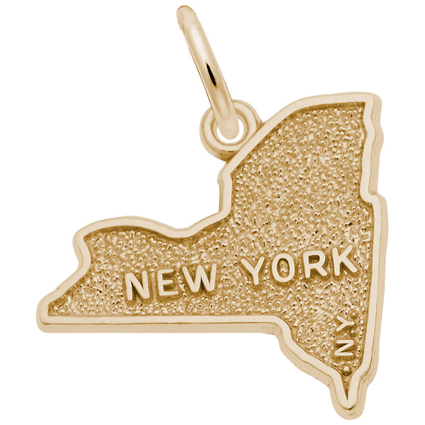 Rembrandt Charms, New York, Engravable