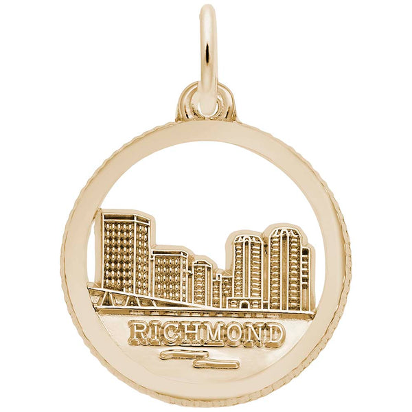 Richmond Skyline, Engravable