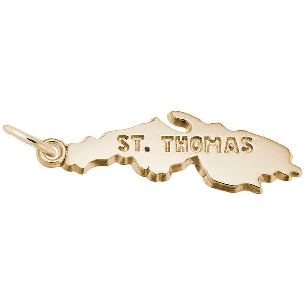 Rembrandt Charms, St. Thomas, Engravable