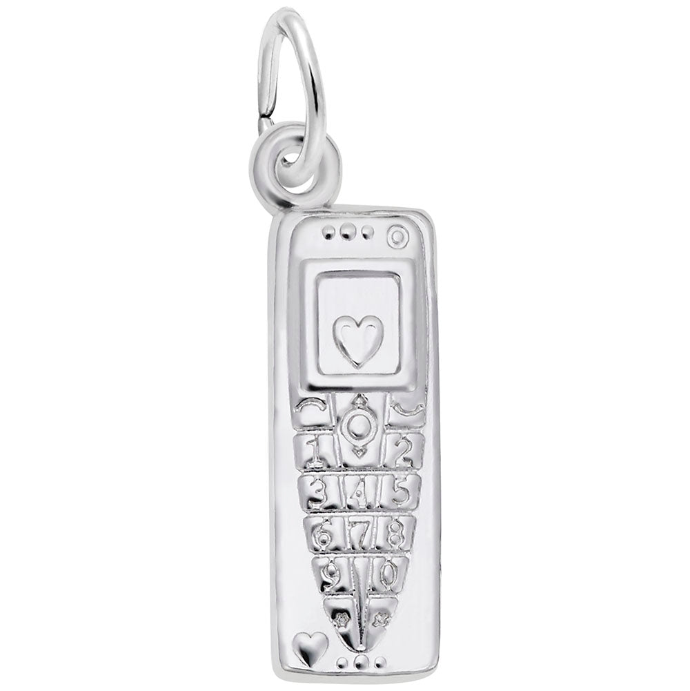 Rembrandt Charms, Cell Phone, Engravable