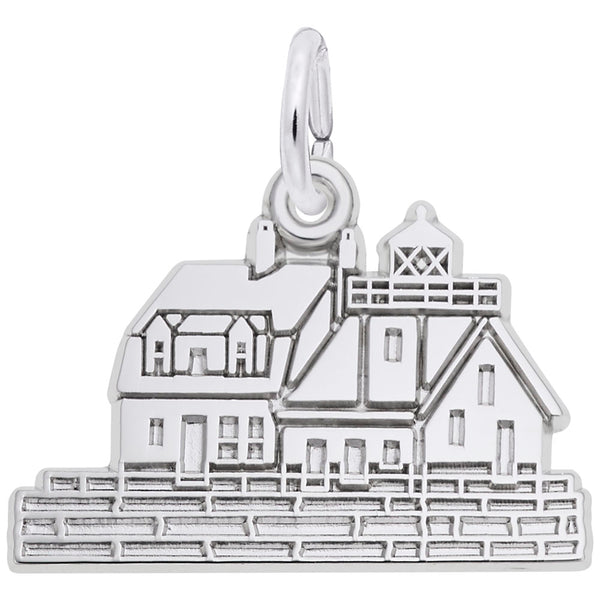 Rembrandt Charms, Rockland, ME Lighthouse, Engravable