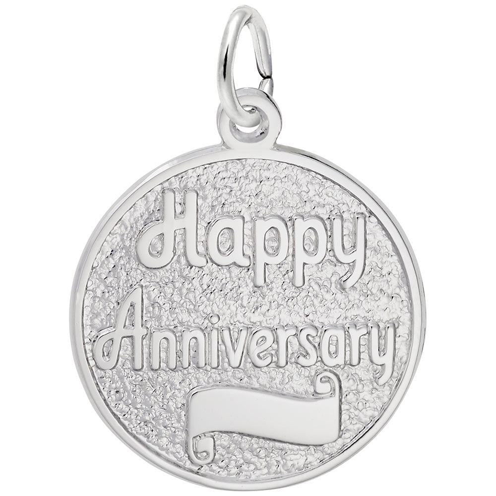 Rembrandt Charms, Anniversary, Engravable