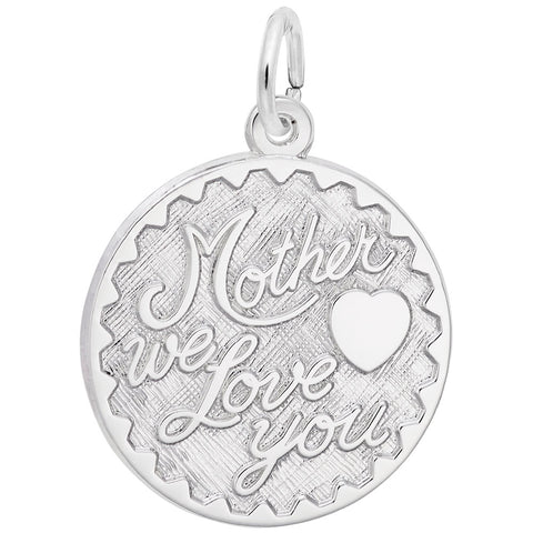 Mother We Love You, Engravable