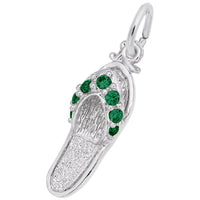 Green / 14k White Gold