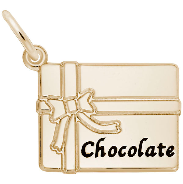 Rembrandt Charms, Chocolate Box, Engravable