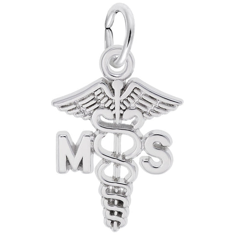 Medical Secretary Caduceus