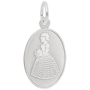 Rembrandt Charms, Bridesmaid / Flower Girl, Engravable