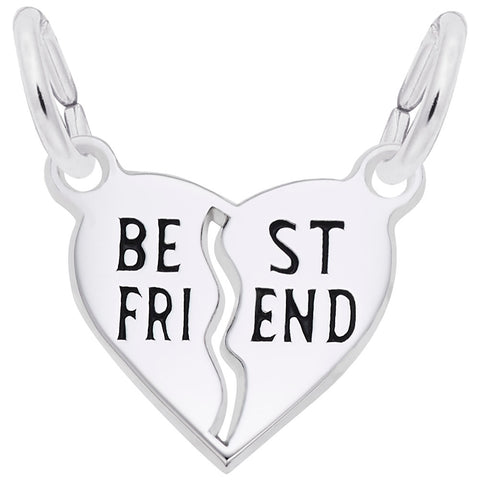 Rembrandt Charms, Best Friend, Engravable
