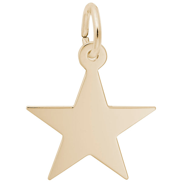 Rembrandt Charms, Star, Engravable