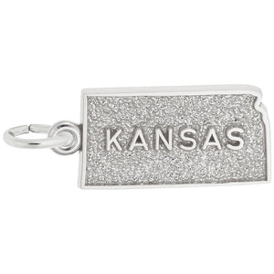 Rembrandt Charms, Kansas, Engravable