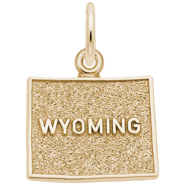 Rembrandt Charms, Wyoming, Engravable