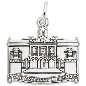 Rembrandt Charms, Old Exchange Building, Engravable