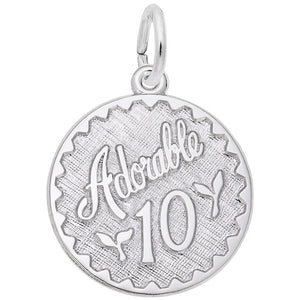 Rembrandt Charms, Adorable 10, Engravable