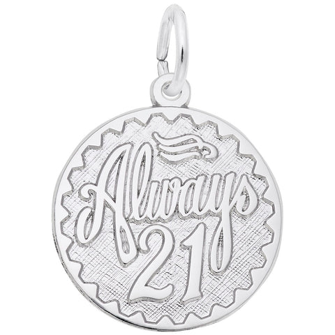 Rembrandt Charms, Always 21, Engravable