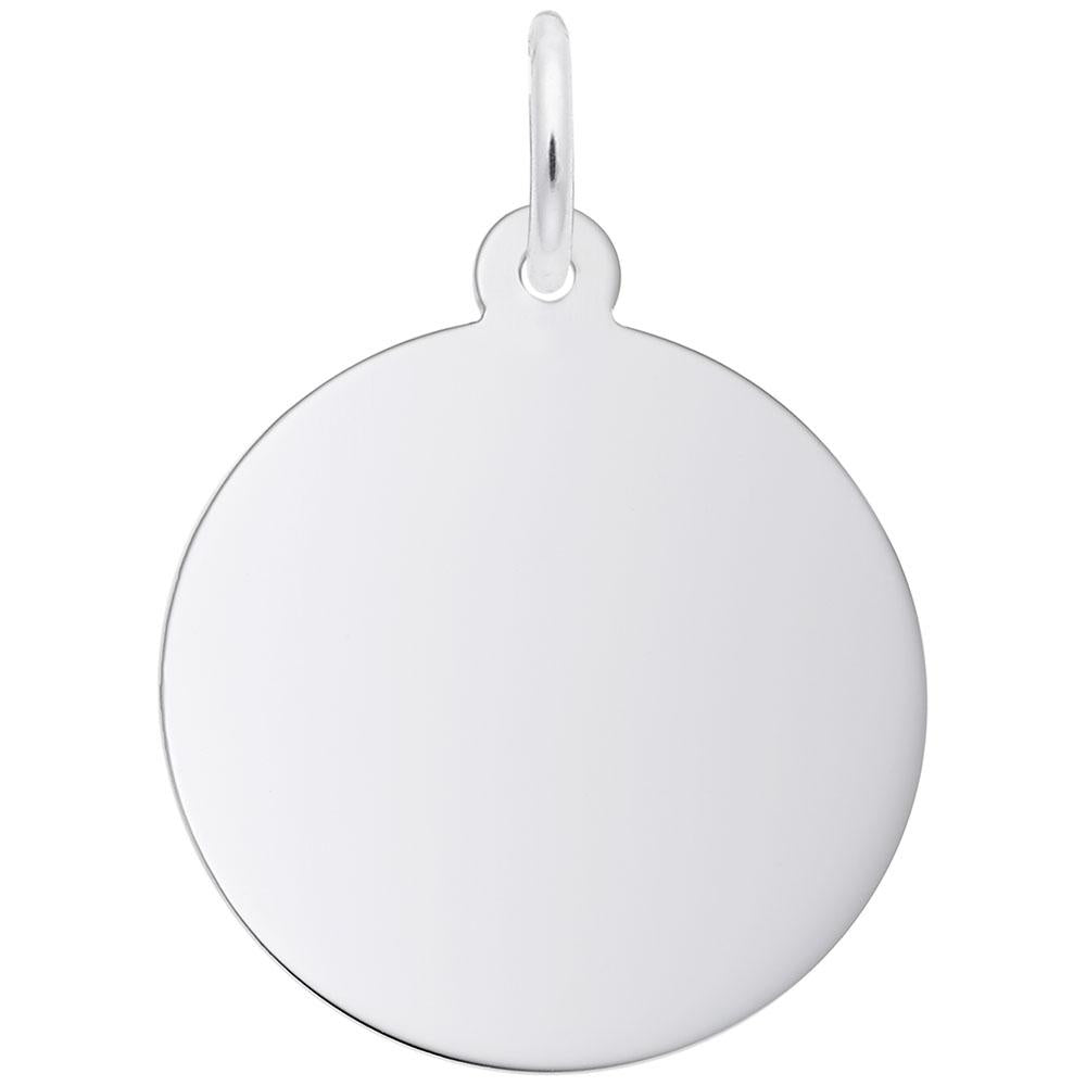 Round Disc (19mm x .9mm), Engravable
