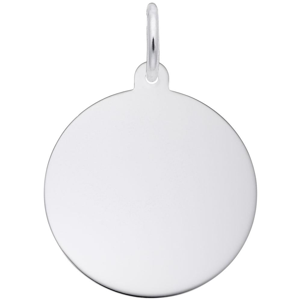 Round Disc (23mm x 1.27mm), Engravable