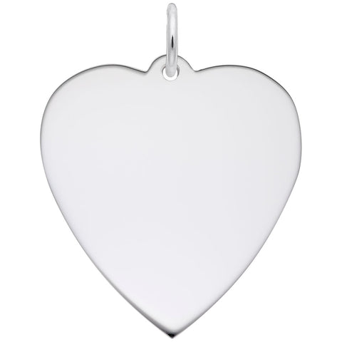 24mm Classic Heart, Engravable
