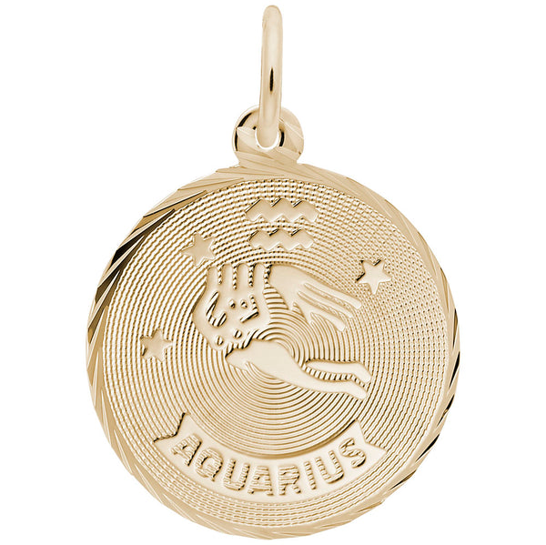 Rembrandt Charms, Zodiac Constellations, Engravable