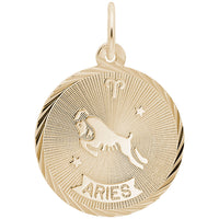 Aries / 22k Gold Plate on Silver