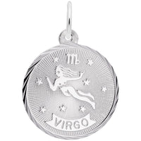 Virgo / 14k White Gold