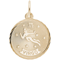 Virgo / 22k Gold Plate on Silver