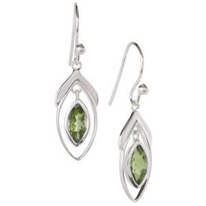 Vise Earrings, Peridot-Earring-teklaestelle-teklaestelle