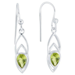 Ditto Earrings, Peridot-Earring-teklaestelle-teklaestelle