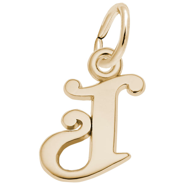 Rembrandt Charms, Curly Initial A-M