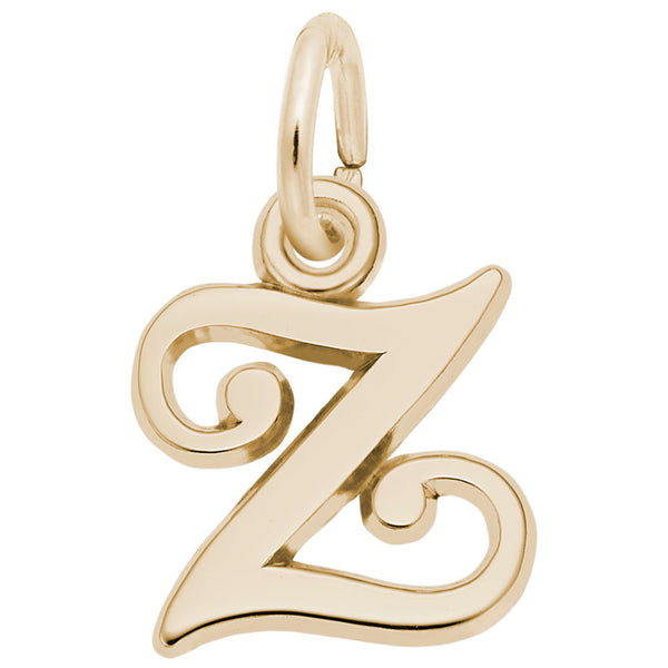 Rembrandt Charms, Curly Initial N-Z