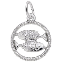 Pisces / 14k White Gold