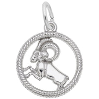 Aries / 14k White Gold