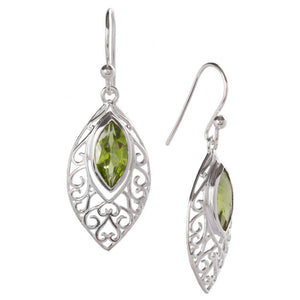 Secret Love Earrings, Peridot-Earring-teklaestelle-teklaestelle