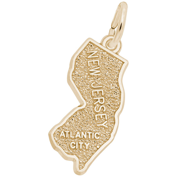 Rembrandt Charms, Atlantic City, Engravable