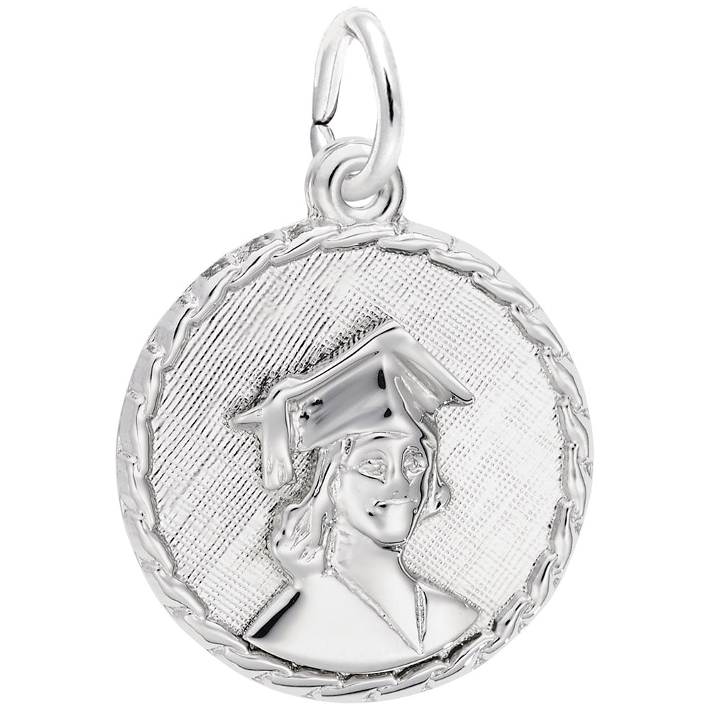 Rembrandt Charms, Graduation, Engravable