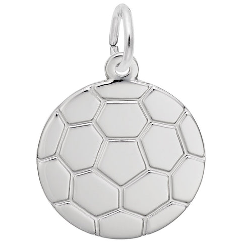 Rembrandt Charms, Soccer Ball, Engravable