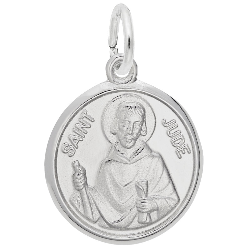 Rembrandt Charms, St. Jude, Engravable