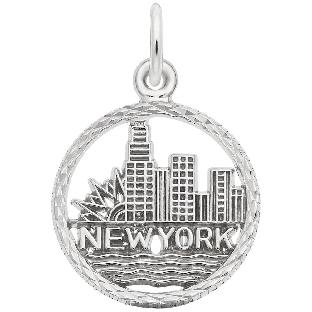 New York City Skyline, Engravable