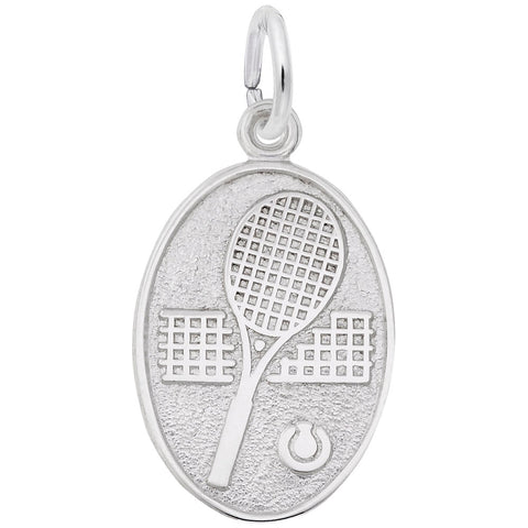 Rembrandt Charms, Tennis, Engravable