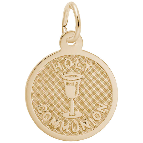Rembrandt Charms, Holy Communion, Small, Engravable