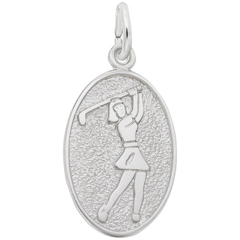 Female Golfer, Engravable