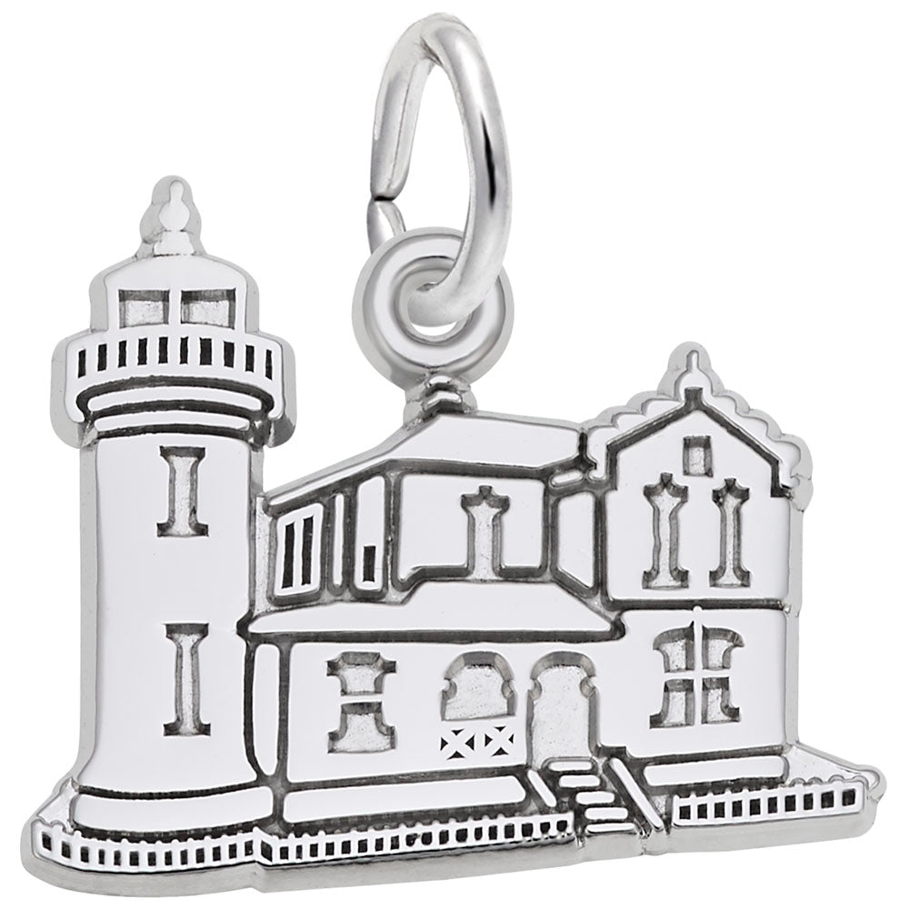 Rembrandt Charms, Admiralty Lighthouse, Engravable