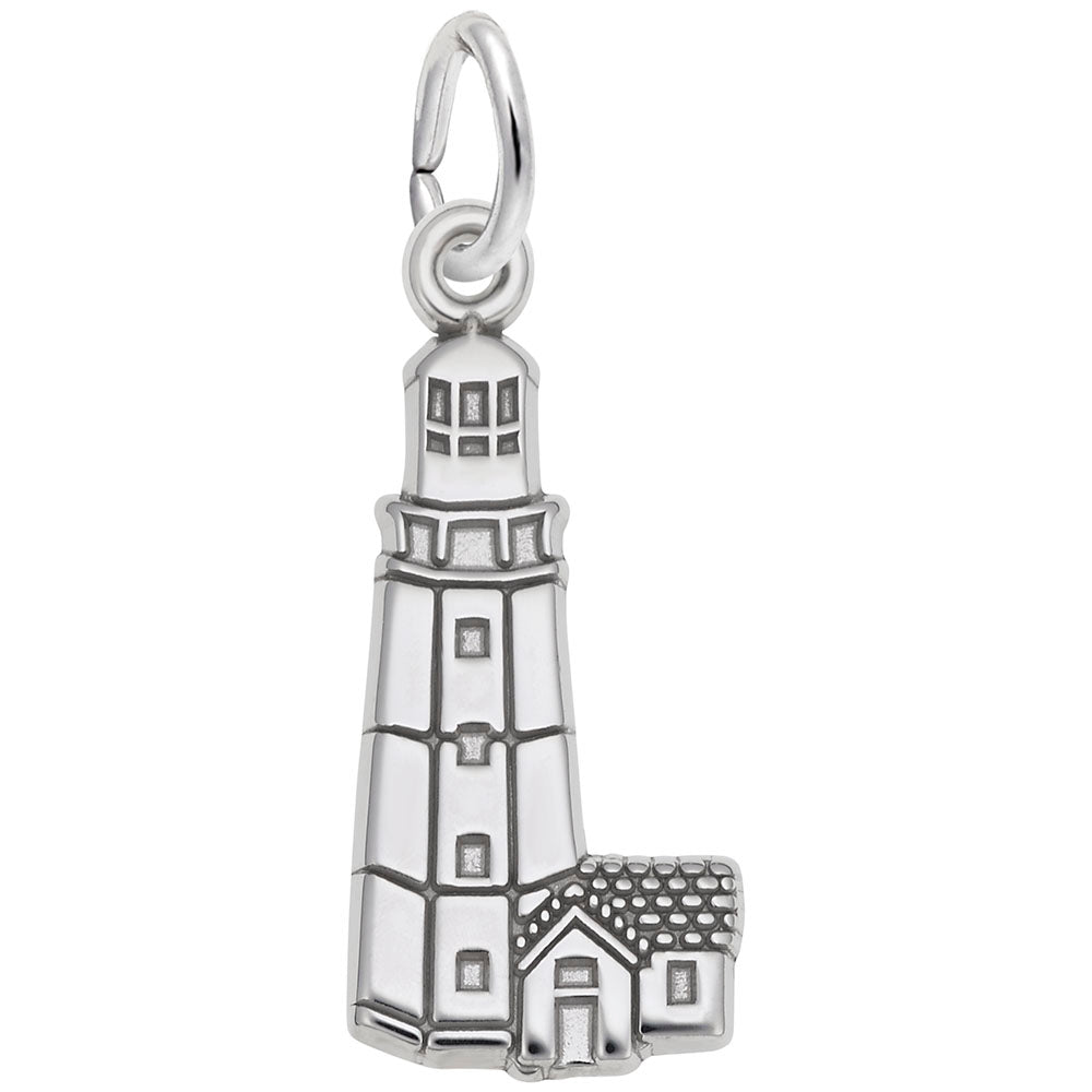Rembrandt Charms, Montauk Lighthouse, Engravable
